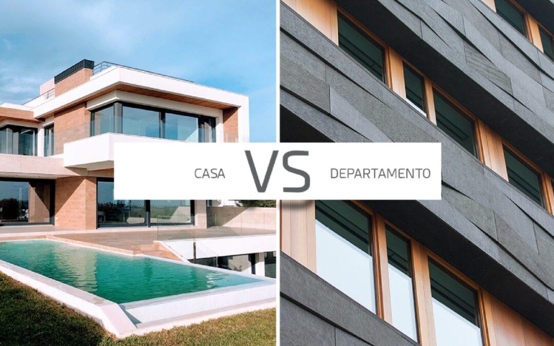¿Casa o departamento? ¿Qué conviene más?